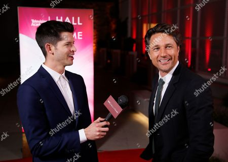 Hunter March, Martin Henderson. Hunter March interviews Martin Henderson at the 24th Television Academy Hall of Fame on at the Television Academy's Saban Media Center in North Hollywood, Calif