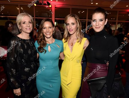 Betsy Beers, KaDee Strickland, Kim Raver, Kate Walsh. Betsy Beers, from left, KaDee Strickland, Kim Raver and Kate Walsh attend the 24th Television Academy Hall of Fame on at the Television Academy's Saban Media Center in North Hollywood, Calif