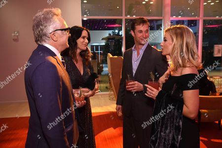 Bradley Whitford, Amy Landecker, Noah Wyle, Sara Wells. Bradley Whitford, from left, Amy Landecker, Noah Wyle and Sara Wells attend the 24th Television Academy Hall of Fame on at the Television Academy's Saban Media Center in North Hollywood, Calif