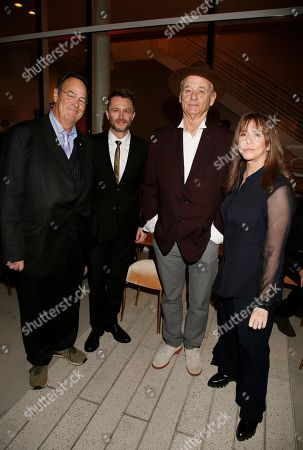 Dan Aykroyd, Chris Hardwick, Bill Murray, Laraine Newman. Dan Aykroyd, from left, Chris Hardwick, Bill Murray, and Laraine Newman attend the 24th Television Academy Hall of Fame on at the Television Academy's Saban Media Center in North Hollywood, Calif