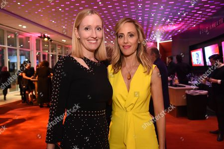Janel Moloney, Kim Raver. Janel Moloney, left, and Kim Raver attend the 24th Television Academy Hall of Fame on at the Television Academy's Saban Media Center in North Hollywood, Calif