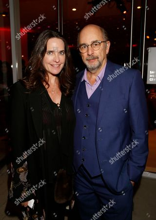 Sheila Kelley, Richard Schiff. Sheila Kelley, left, and Richard Schiff attend the 24th Television Academy Hall of Fame on at the Television Academy's Saban Media Center in North Hollywood, Calif