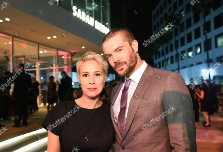 Liza Weil, Charlie Weber. Liza Weil, left, and Charlie Weber attend the 24th Television Academy Hall of Fame on at the Television Academy's Saban Media Center in North Hollywood, Calif