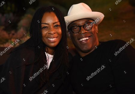 Stock Photo of Jenisa Garland, Isaiah Washington. Jenisa Garland and Isaiah Washington attend the 24th Television Academy Hall of Fame on at the Television Academy's Saban Media Center in North Hollywood, Calif