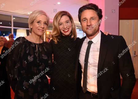 Betsy Beers, Tessa Ferrer, Martin Henderson. Betsy Beers, from left, Tessa Ferrer and Martin Henderson attend the 24th Television Academy Hall of Fame on at the Television Academy's Saban Media Center in North Hollywood, Calif