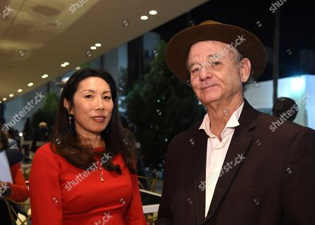 Stock Photo of Jodi Long, Bill Murray. Jodi Long, left, and Bill Murray attend the 24th Television Academy Hall of Fame on at the Television Academy's Saban Media Center in North Hollywood, Calif