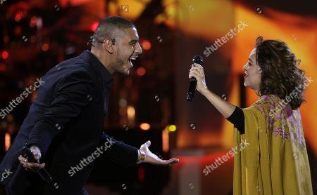 Manuel Medrano and Natalia Lafourcade