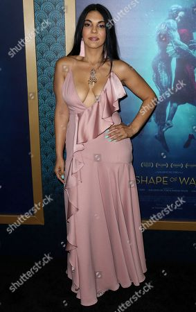 """Stock Photo of Matilda Del Toro arrives at the LA Premiere of """"The Shape of Water"""" at the Academy of Motion Pictures, Arts and Sciences, in Beverly Hills, Calif"""