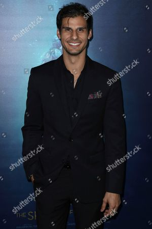 """Skyler Bible arrives at the LA Premiere of """"The Shape of Water"""" at the Academy of Motion Pictures, Arts and Sciences, in Beverly Hills, Calif"""