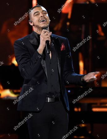 """Manuel Medrano performs """"No Es Lo Mismo"""" at the Latin Recording Academy Person of the Year tribute honoring Alejandro Sanz at the Mandalay Bay Convention Center, in Las Vegas"""