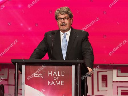 John Wells is inducted into the Television Academy Hall of Fame on at the Television Academy's Saban Media Center in North Hollywood, Calif