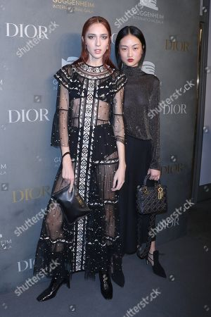 Stock Picture of Teddy Quinlivan and Jing Wen
