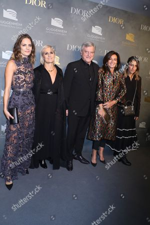 Rachele Regini, Maria Grazia Chiuri, Sidney Toledano, Katia Toledano, Julia Toledano