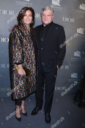 Sidney Toledano with wife Katia Toledano