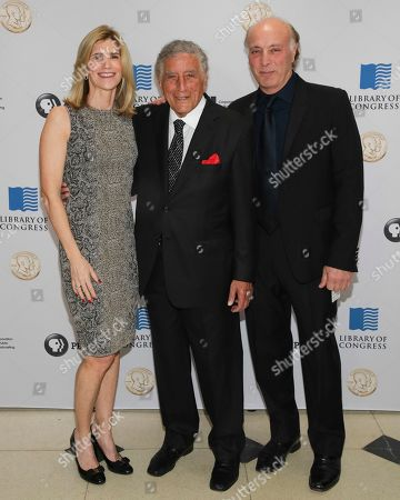 Susan Crow, Tony Bennett, Danny Bennett. Susan Crow, from left, singer/honoree Tony Bennett and Danny Bennett attend the 2017 Gershwin Prize Honoree's Tribute Concert at the DAR Constitution Hall on in Washington