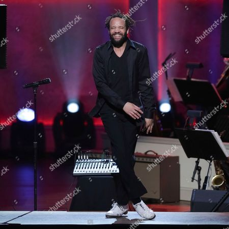 Dancer Savion Glover performs on stage during the 2017 Gershwin Prize Tribute Concert honoring Tony Bennett at the DAR Constitution Hall on in Washington