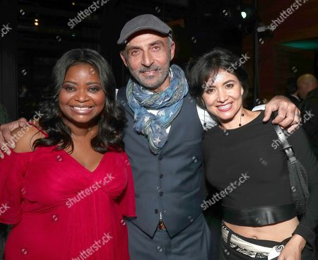 Octavia Spencer, Shaun Toub and Lorena Toub