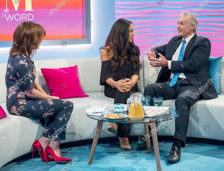 Lorraine Kelly with Dee Thresher and Dr Hilary Jones