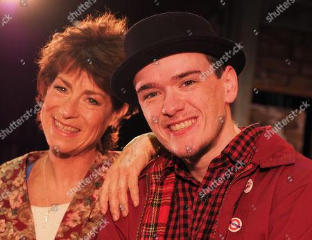 Stock Image of Deena Payne and George Sampson