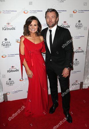Lisa Wilkinson and Joel Edgerton