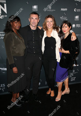 Stock Photo of Jacqueline Lyanga, Laurent Boyer, Camilla Cormanni, Guest