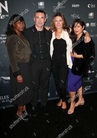 Stock Picture of Jacqueline Lyanga, Laurent Boyer, Camilla Cormanni, Guest