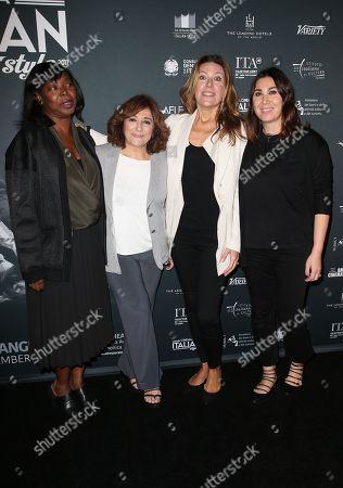 Jacqueline Lyanga, Laura Delli Colli, Camilla Cormanni, Guest