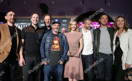Editorial image of Italian Style Kick-Off Event And Inaugural Cinecitta Key Award Ceremony, AFI Fest, Los Angeles, USA - 15 Nov 2017