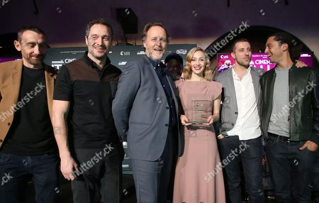 Editorial picture of Italian Style Kick-Off Event And Inaugural Cinecitta Key Award Ceremony, AFI Fest, Los Angeles, USA - 15 Nov 2017