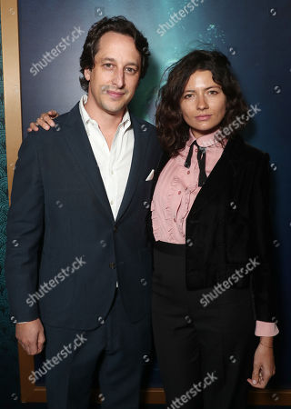 Stock Photo of Fox Searchlight Co-Head of Production David Greenbaum and Karina Deyko