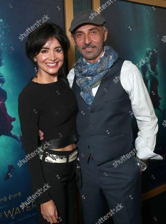 Stock Picture of Lorena Toub and Shaun Toub