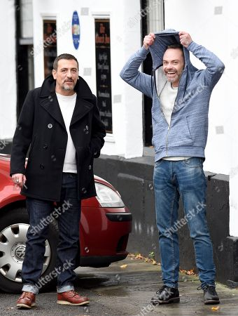 Chris Gascoigne and Daniel Brocklebank