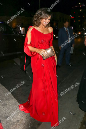 Editorial photo of Celebrities at Avenue Nightclub, Los Angeles, USA - 15 Nov 2017