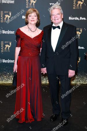 Joachim Gauck mit Partner Daniela Schadt