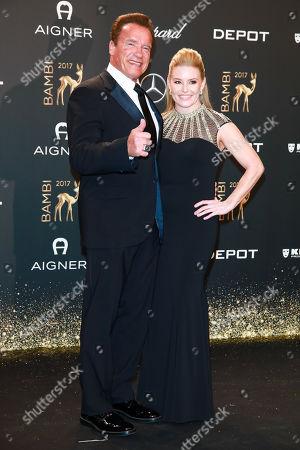 Arnold Schwarzenegger mit Heather Milligan