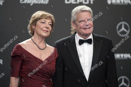Joachim Gauck and Daniela Schadt
