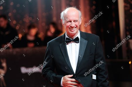 Willy Bogner arrives for the 69th annual Bambi awards ceremony in Berlin, Germany, 16 November 2017. The awards recognize excellence in international media and television.