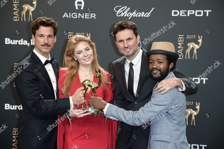 Editorial photo of Bambi Awards 2017 ceremony, Berlin, Germany - 16 Nov 2017