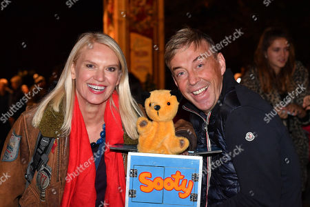 Anneka Rice and Richard Cadell