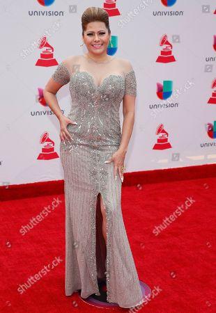 Editorial photo of 2017 Latin Grammy Awards - Arrivals, Las Vegas, USA - 16 Nov 2017