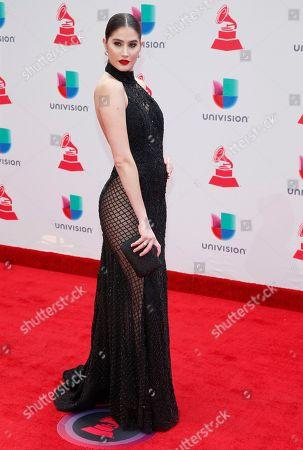Editorial image of 2017 Latin Grammy Awards - Arrivals, Las Vegas, USA - 16 Nov 2017