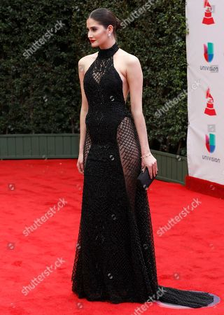 Stock Picture of Mariam Habach arrives at the 18th annual Latin Grammy Awards at the MGM Grand Garden Arena, in Las Vegas