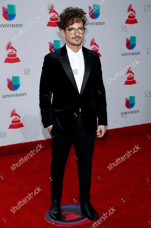 Tommy Torres arrives at the 18th annual Latin Grammy Awards at the MGM Grand Garden Arena, in Las Vegas