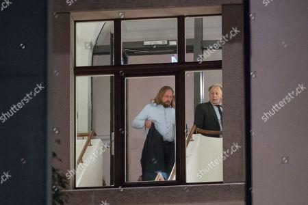 Anton Hofreiter and Juergen Trittin