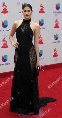 Editorial picture of 18th Annual Latin Grammy Awards - Arrivals, Las Vegas, USA - 16 Nov 2017