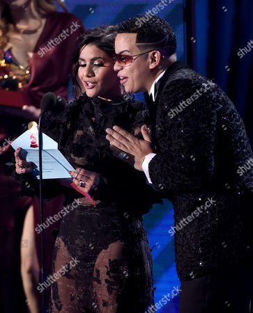 Editorial picture of 2017 Latin Grammy Awards - Show, Las Vegas, USA - 16 Nov 2017