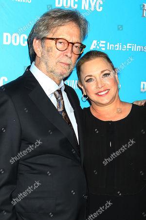 Eric Clapton and Lili Fini Zanuck