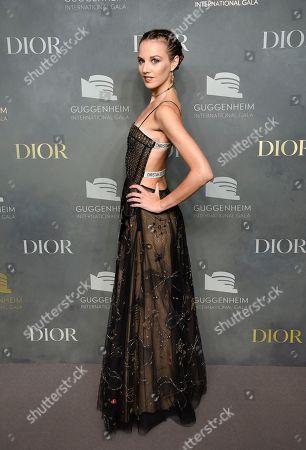 Ballerina Julie Granger attends the 2017 Guggenheim International Gala, hosted by Dior, at the Guggenheim Museum, in New York