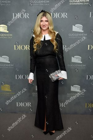 Sarah Hoover attends the 2017 Guggenheim International Gala, hosted by Dior, at the Guggenheim Museum, in New York