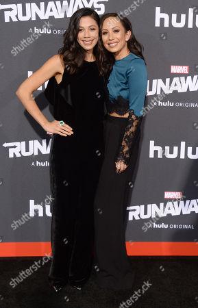 Nicole Wolf and Cheryl Burke